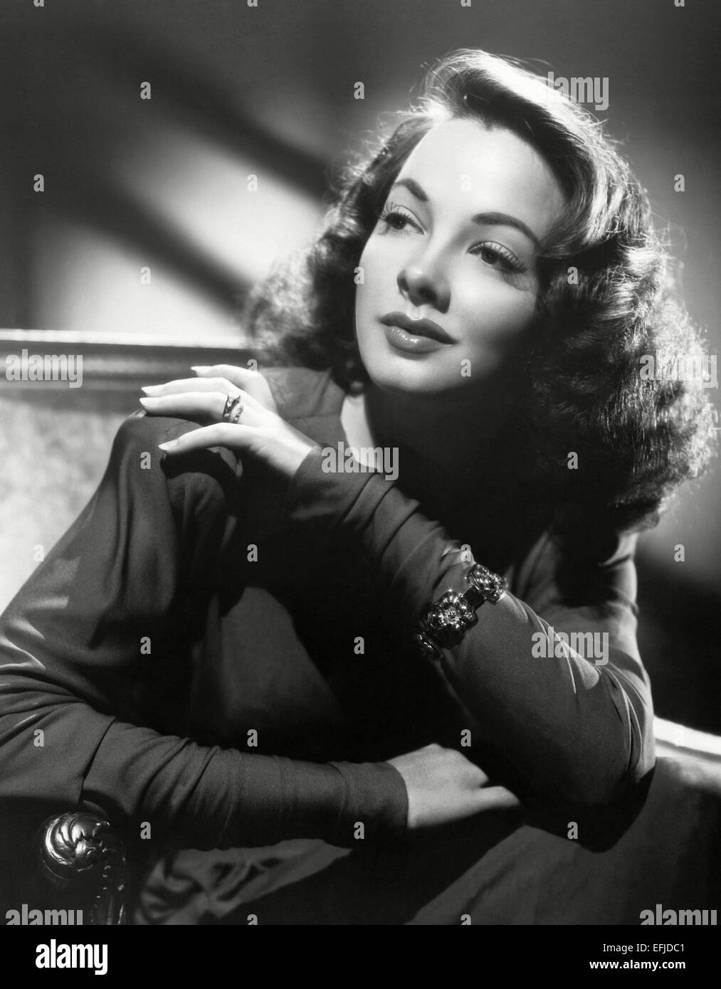 KATHRYN GRAYSON (1922-2010) US film actress about 1945 - Stock Image