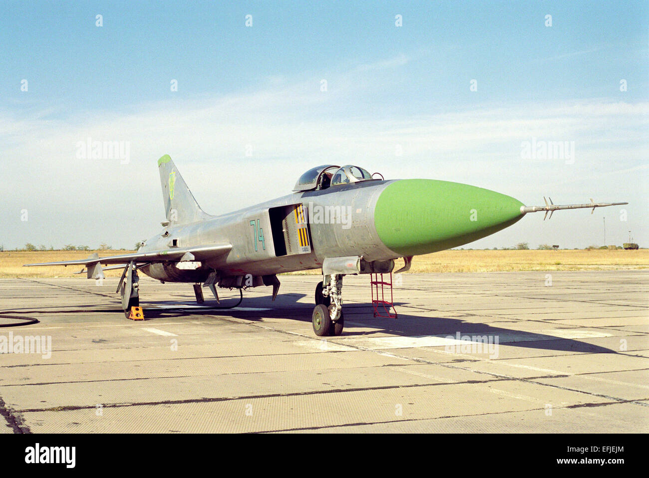 Sukhoi Su-15TM air defense fighter - Stock Image
