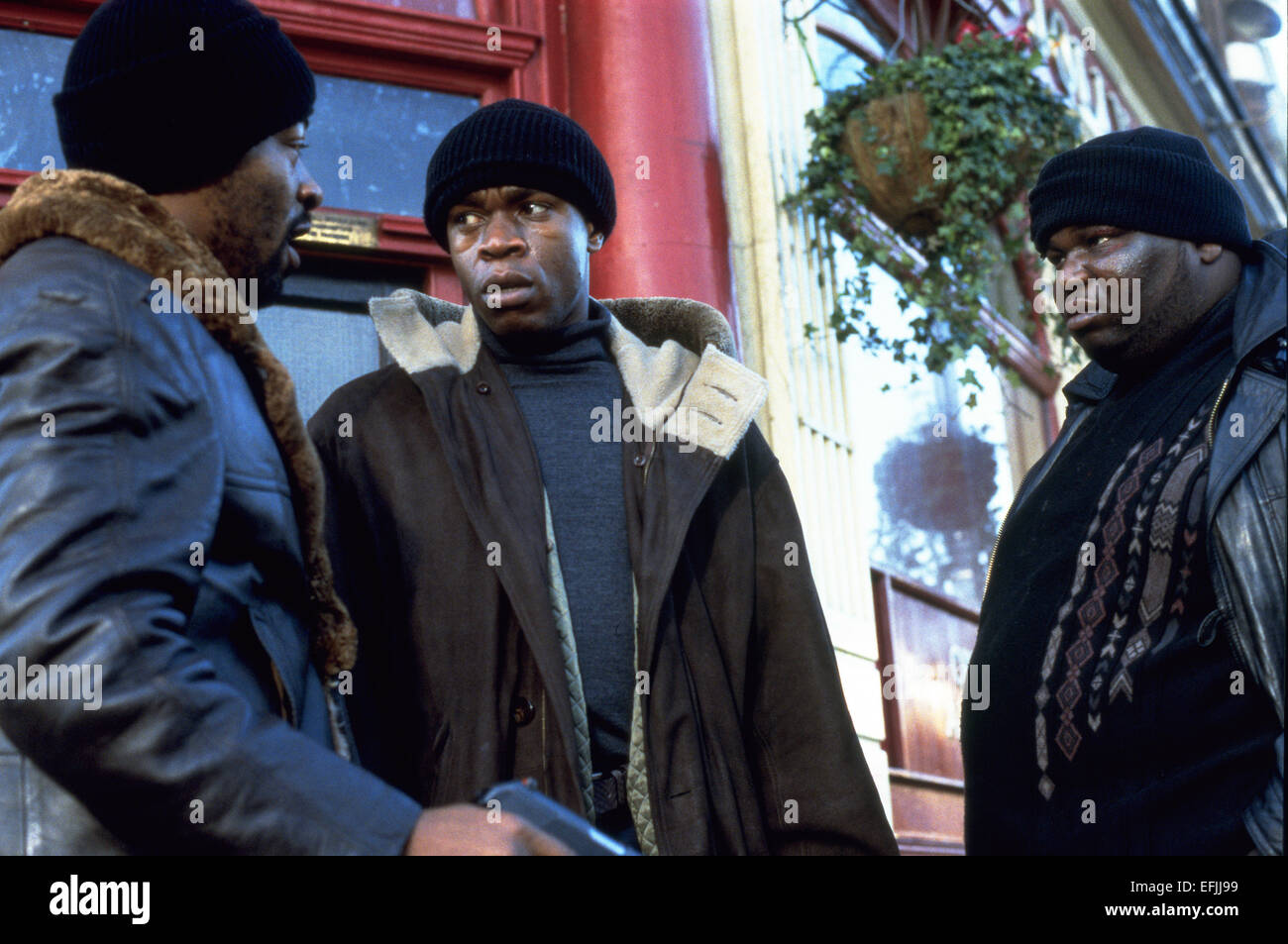 ROBBIE JAMES ADE & LENNIE JAMES SNATCH (2000) - Stock Image