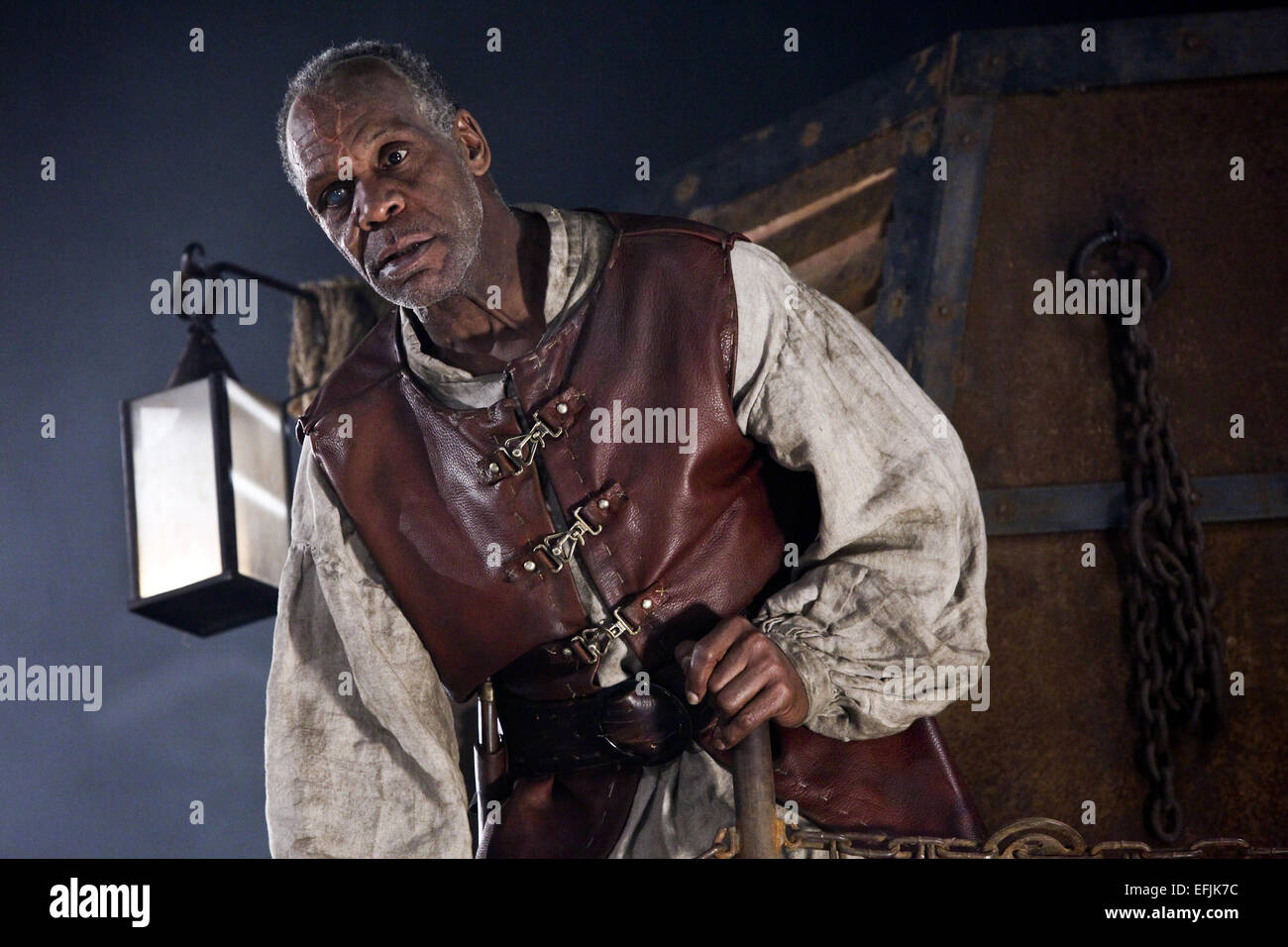 DANNY GLOVER AGE OF THE DRAGONS (2011) - Stock Image