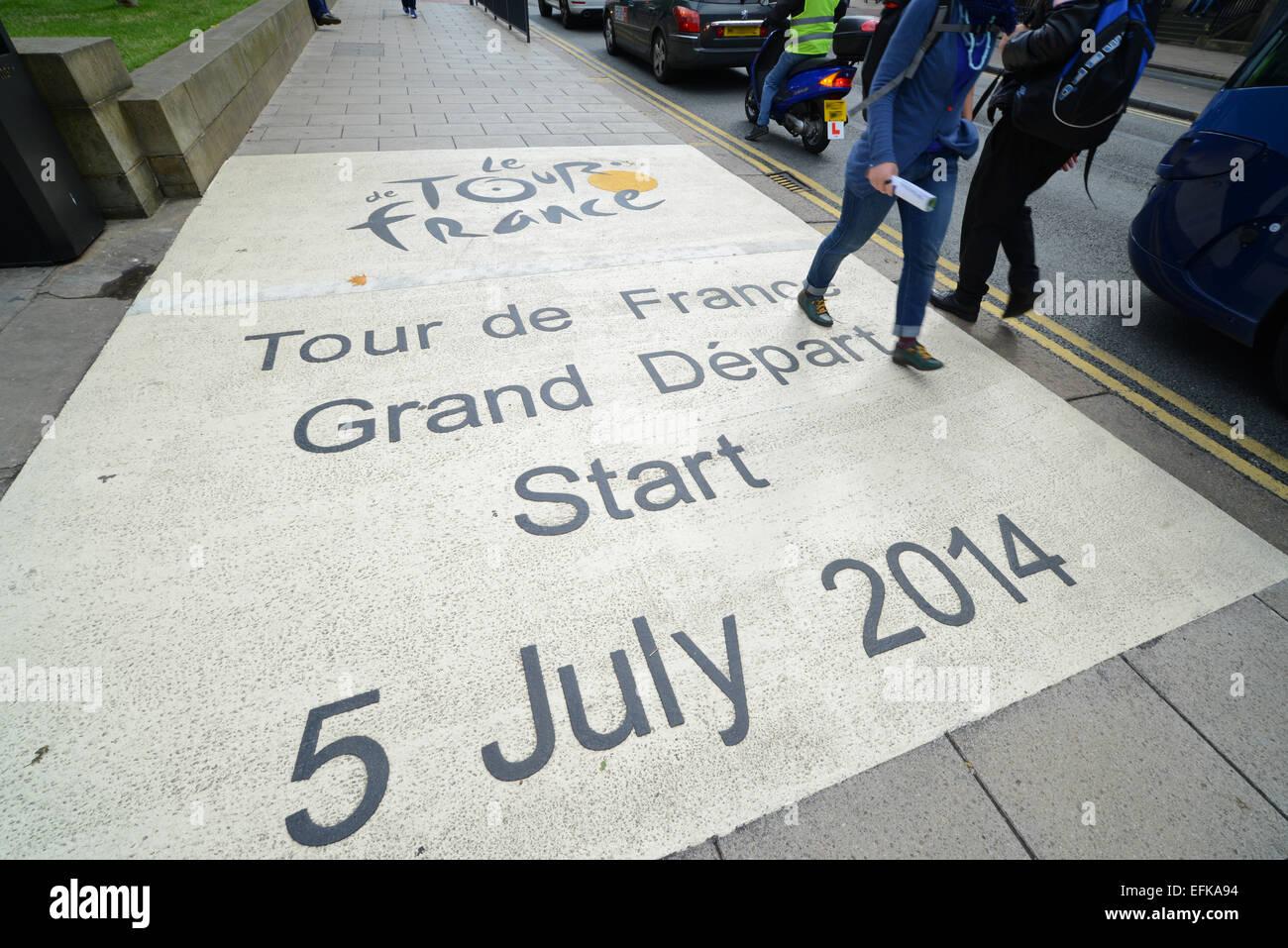 Start Tour De France In Stock Photos   Start Tour De France In Stock ... cef6cc24b