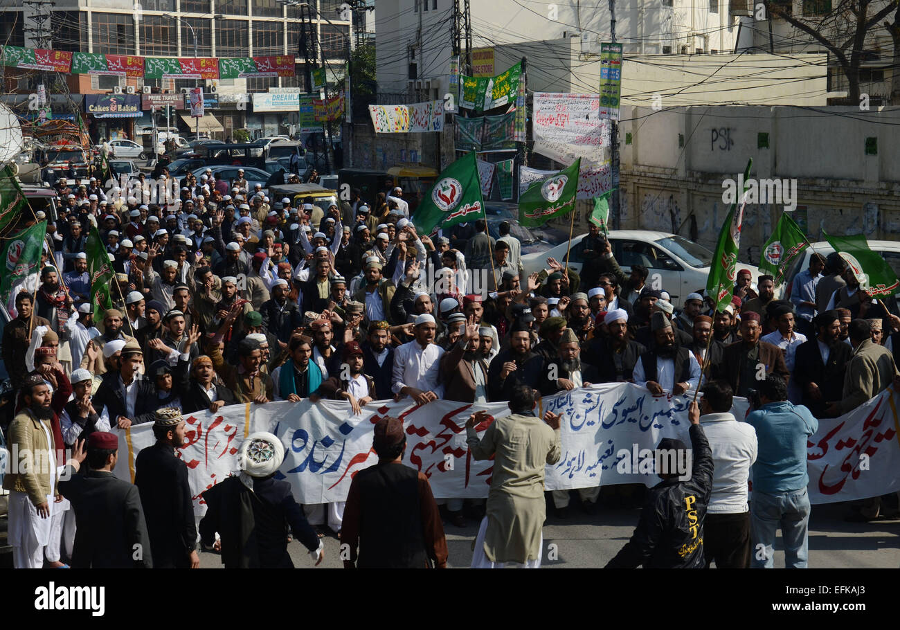 Pakistani Supporters Of The Religious And Political Parties Attend Kashmir Solidarity Day A Rally Expressing Support For Kashmiris Living In Indian