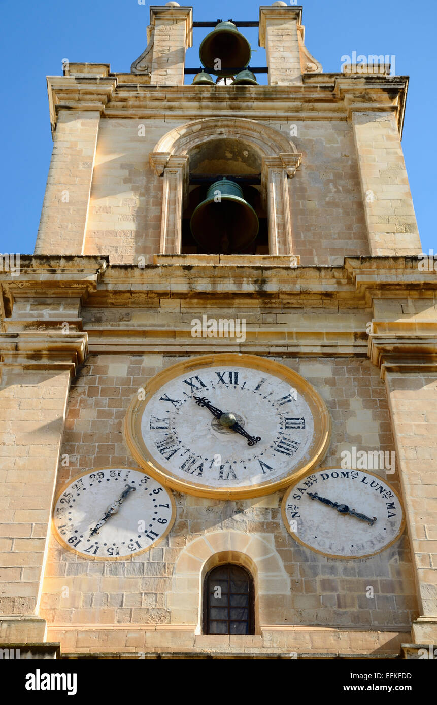 Valletta, St. Johns Co-Cathedral Stock Photo