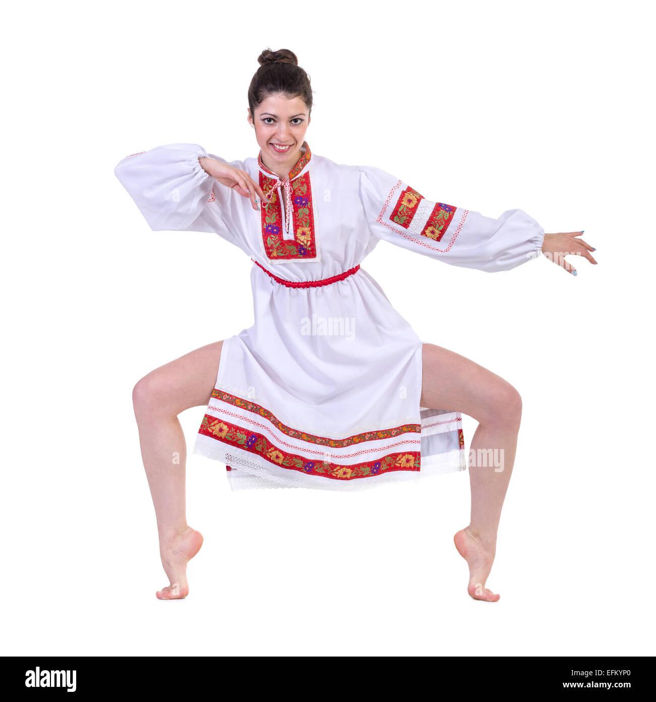 With Beatiful Ukranian Girls Dancing