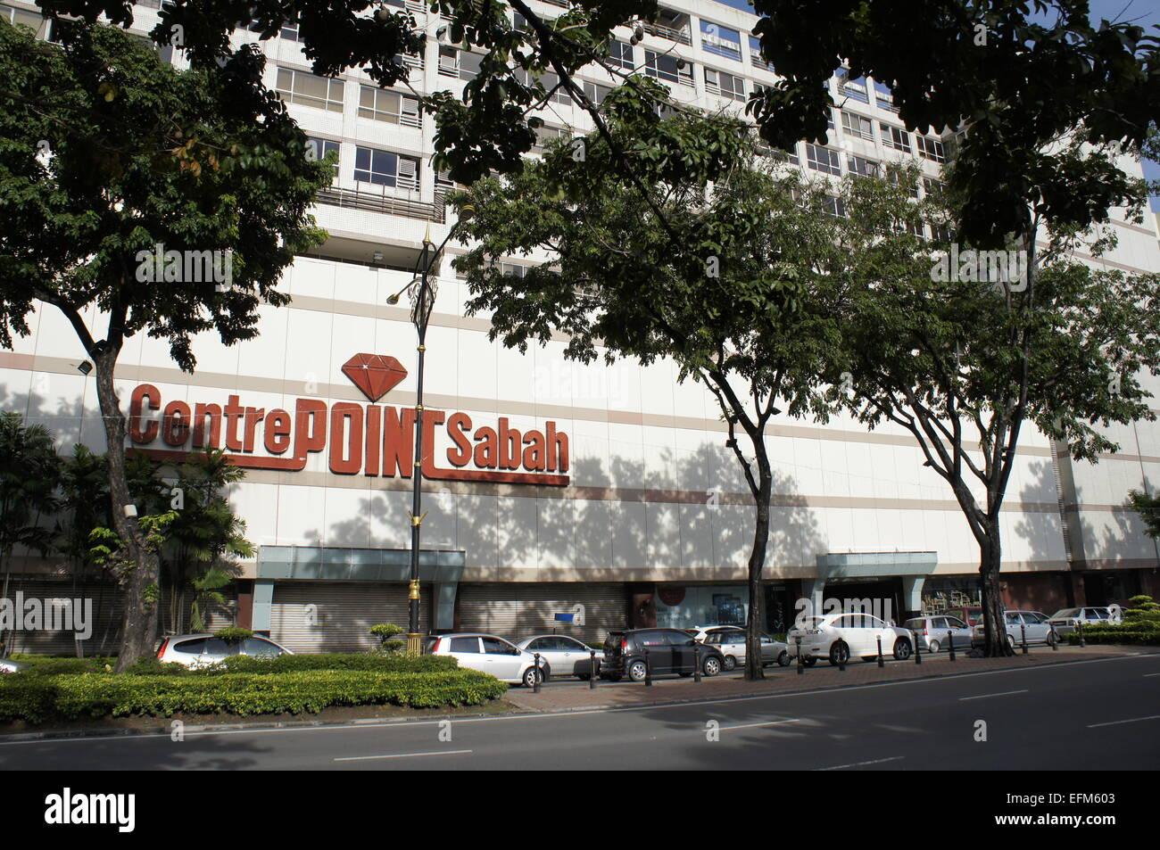 Centrepoint shopping centre in Kota Kinabalu, Sabah - Stock Image