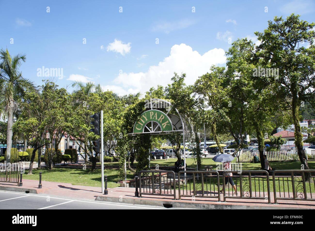City Park, Kota Kinabalu, Sabah - Stock Image