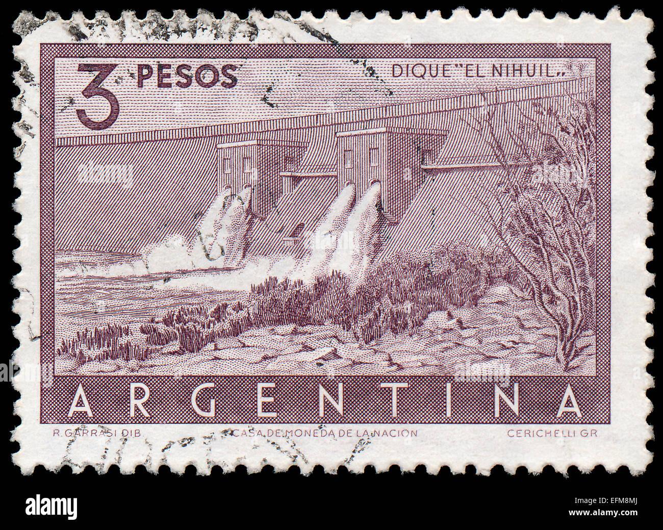 Dedicated Old Argentine Republic Stamp Stamps Argentina