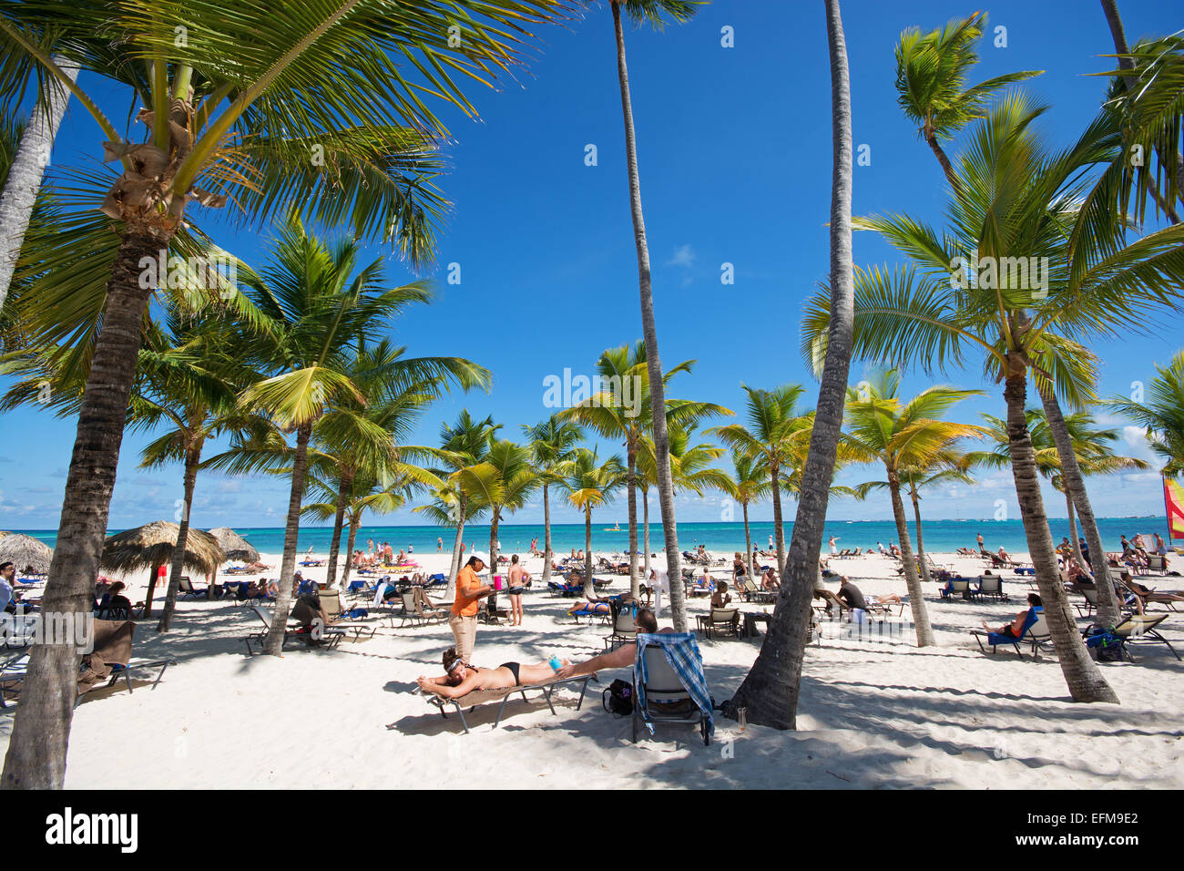 DOMINICAN REPUBLIC. Secrets Royal Beach adults-only resort at Punta Cana on the east coast. 2015. - Stock Image