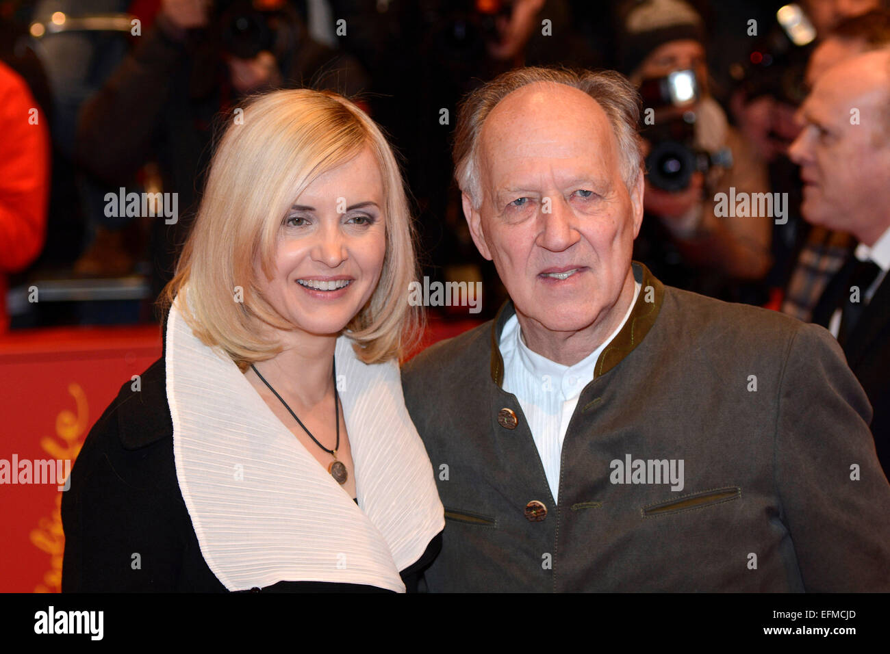 Werner Herzog Wife Lena Attending Stock Photos & Werner ...