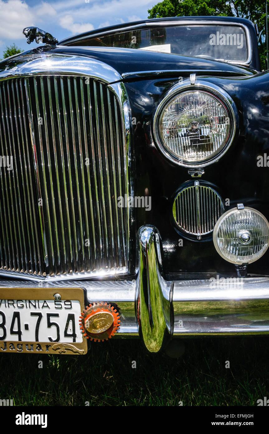 1959 Jaguar Mark IX, Antique Car Show, Sully Historic Site, Chantilly,  Virginia