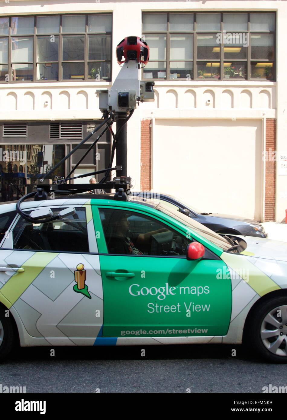 Caught On Camera In Soho Google S Street View Car Photographing The