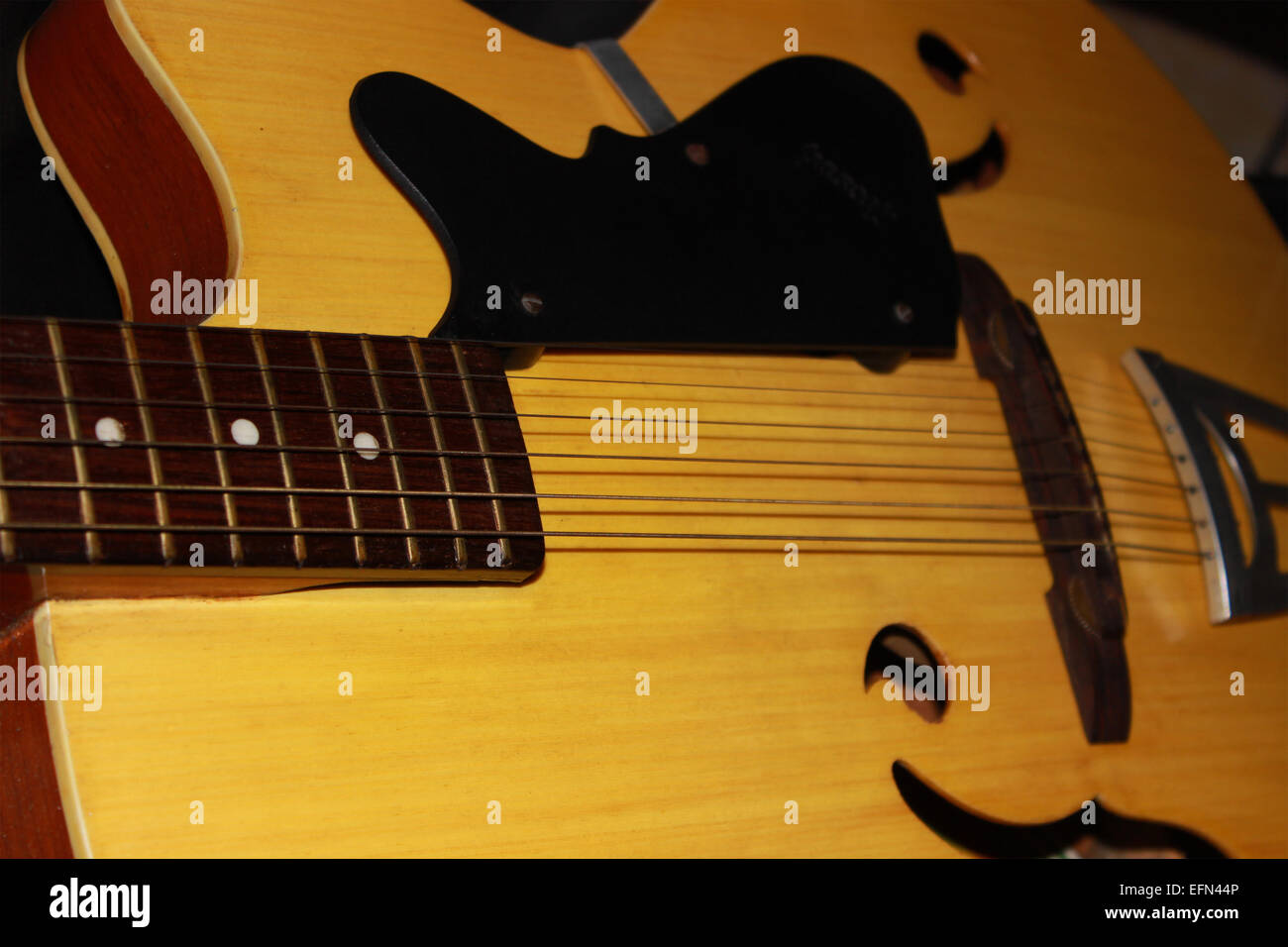 Guitar Jazz Neck Backdrop Audio Group Midi Concert Classic