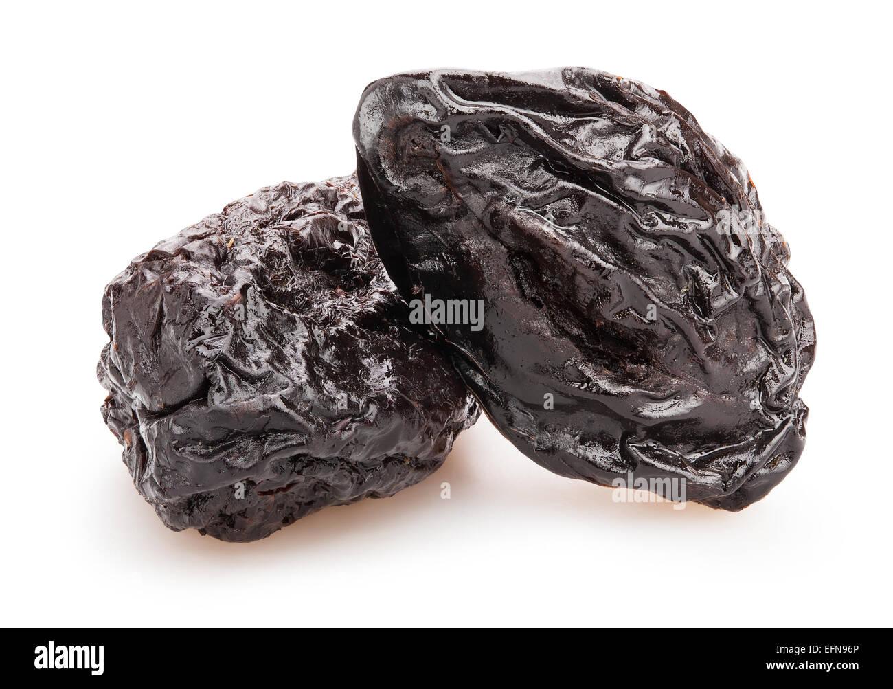 prunes isolated - Stock Image