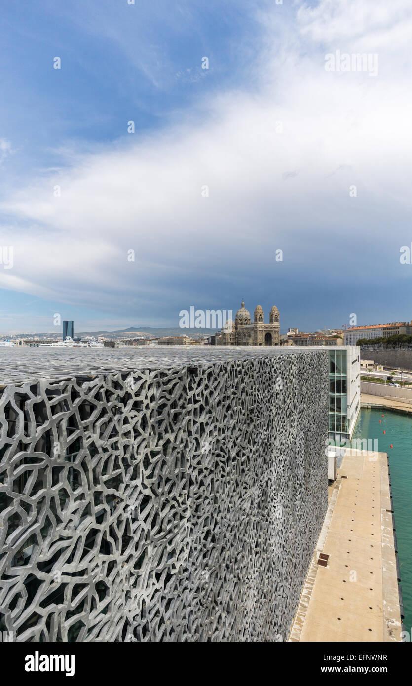 Mucem, Marseille - Stock Image