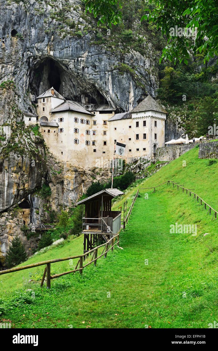 Predjama Castle (Predjamski grad), Predjama, Slovenia, Europe Stock Photo