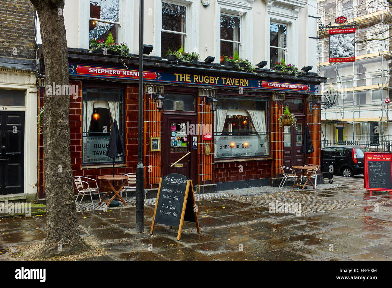 The Rugby Tavern, Bloomsbury - Stock Image