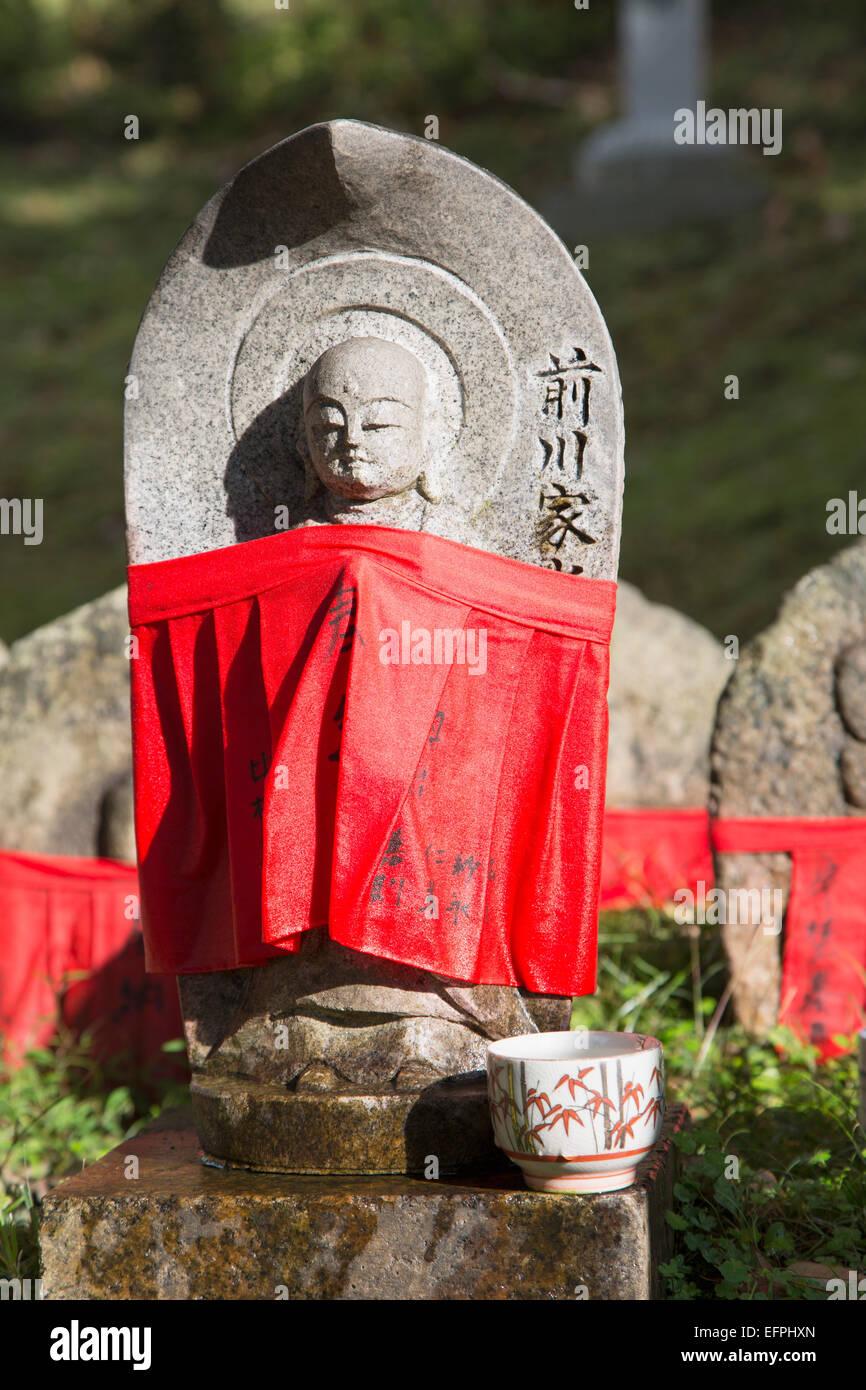 Statue at Kofukuji Temple, UNESCO World Heritage Site, Nara, Kansai, Japan, Asia - Stock Image