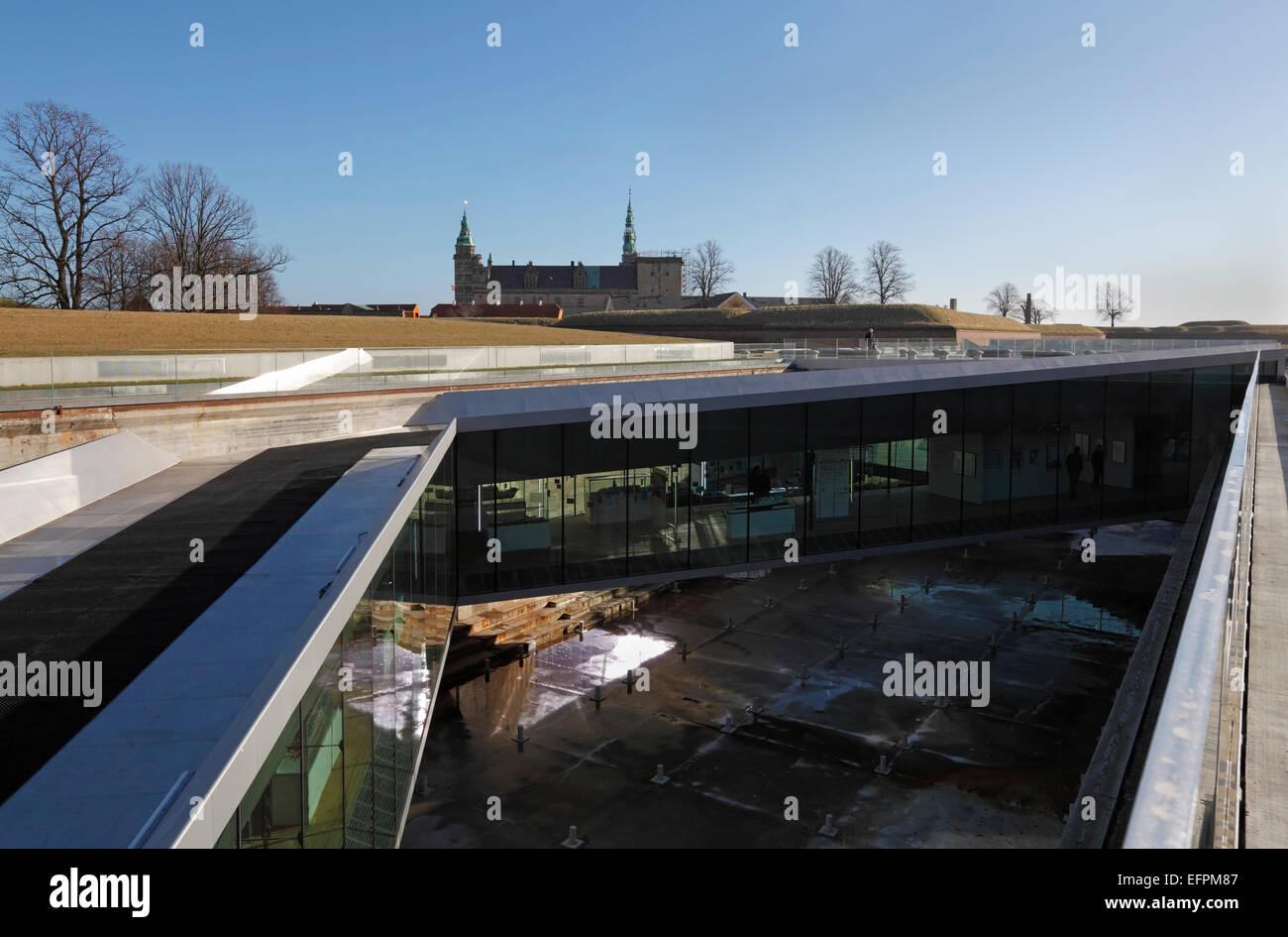 Danish Maritime Museum (M/S Museet for Søfart), Elsinore / Helsingør, Denmark. Architect Bjarke Ingels - Stock Image