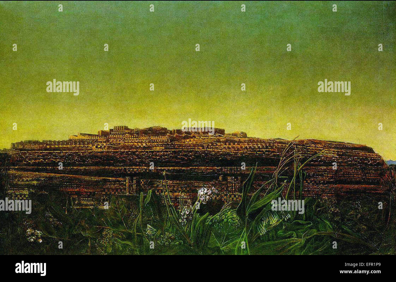 Max Ernst  The Entire City - Stock Image