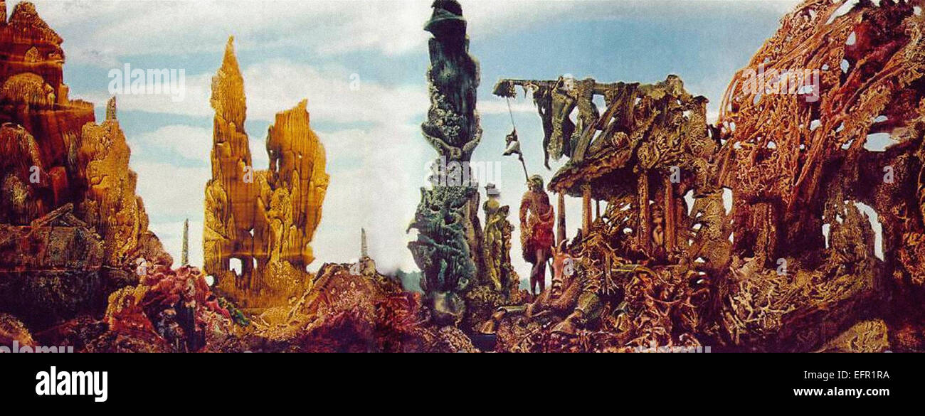Max Ernst  Europe after the Rain - Stock Image