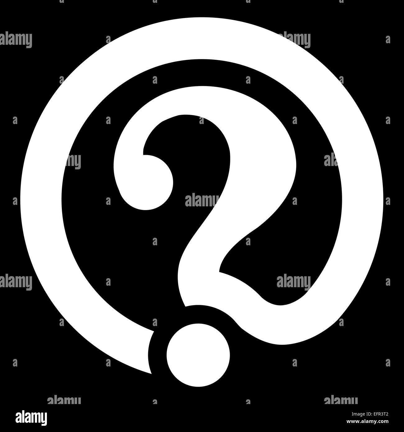 Email Symbol With Question Mark Stock Photo 78569234 Alamy