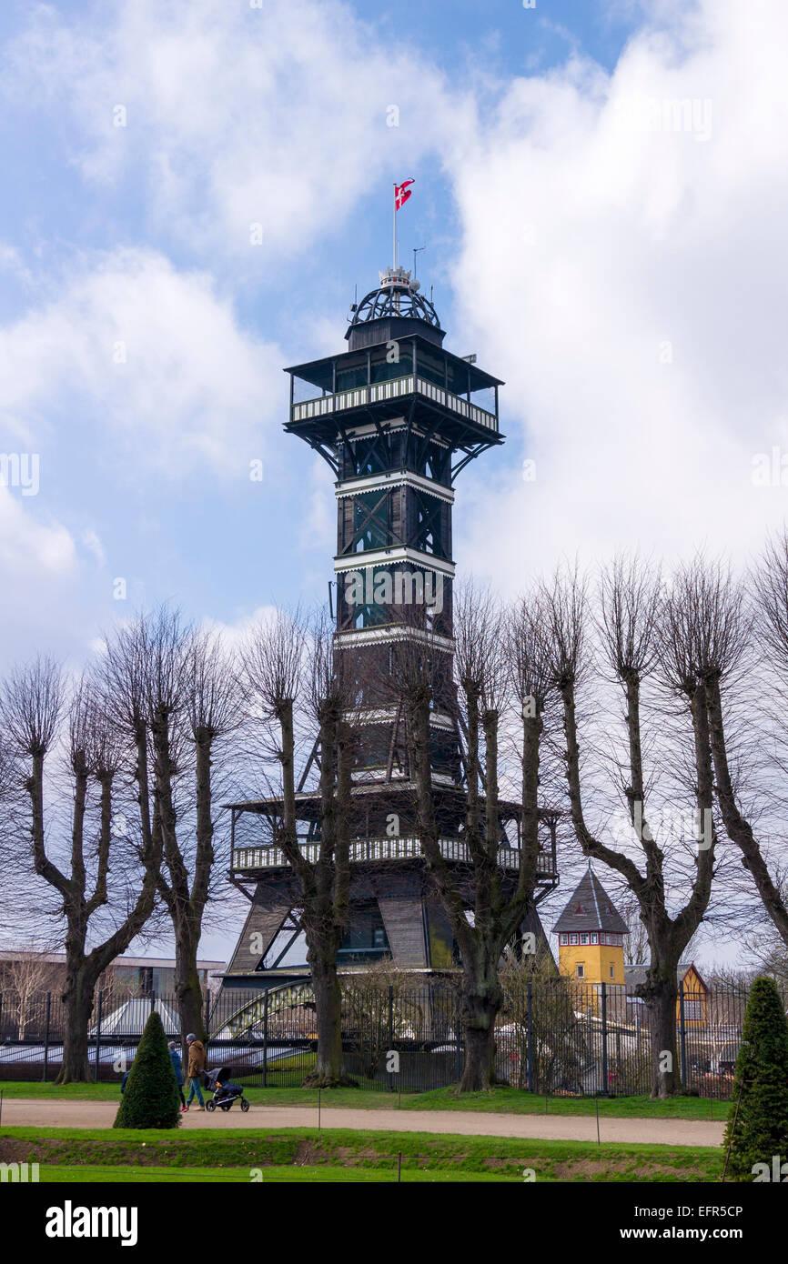 The Tower At Copenhagen Zoo Frederiksberg Municipality Near Stock Photo Alamy