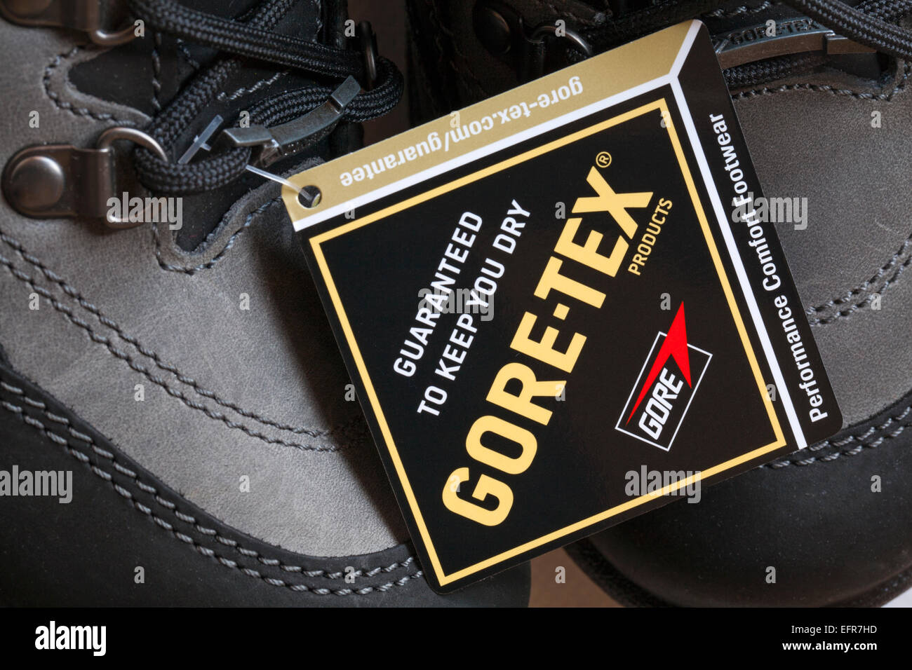 f5f497915f4 Guaranteed to keep you dry label on Hotter Gore-tex boots Stock ...