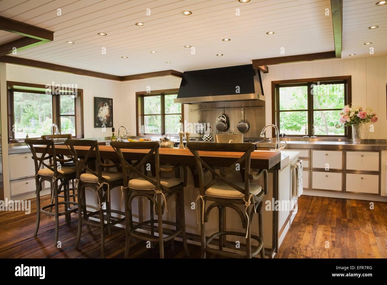 Modern Interior Design Luxury Country Style Kitchen With Kitchen