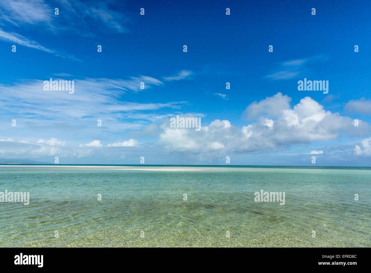 Sea of Ishigaki island, Okinawa, Japan - Stock Image
