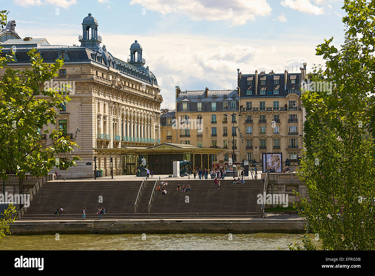 Musee d'Orsay, Paris, France - Stock Image