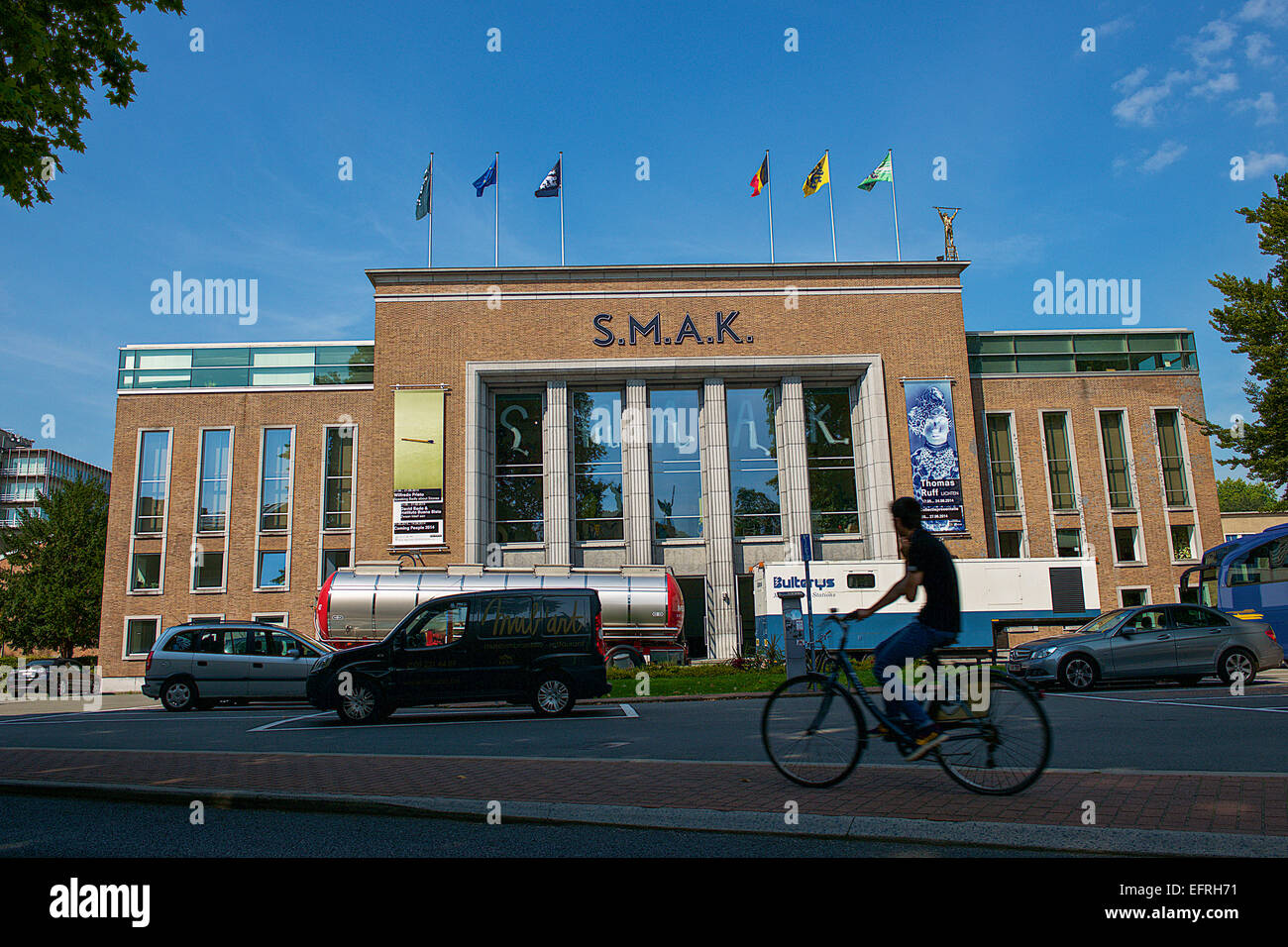 S.M.A.K Museum of Contemporary Art, Ghent, Belgium - Stock Image