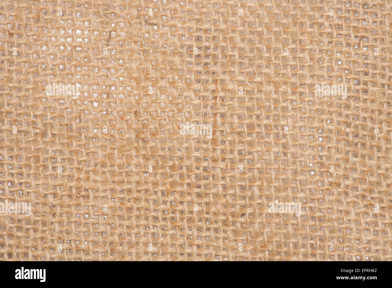 hessian fabric abstract background texture - Stock Image