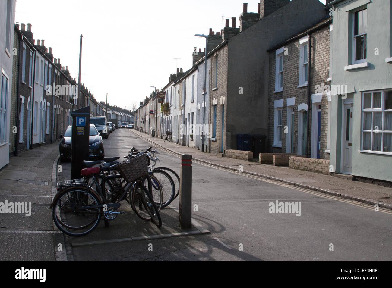 Gwydir Street, Cambridge, UK - Stock Image