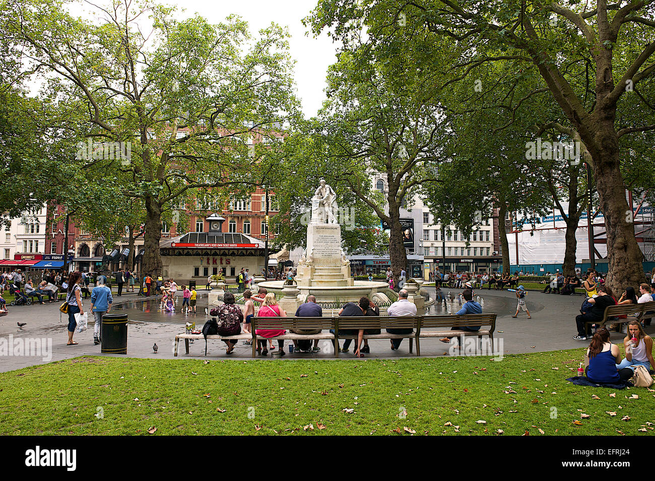 Leicester Square, London, UK Stock Photo