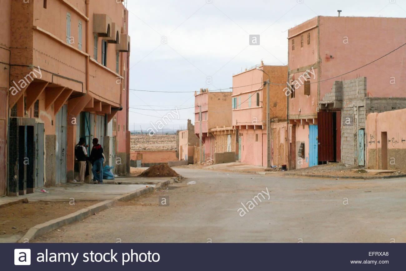 Western Sahara Or Spanish Sahara Occupied By Morocco Western Sahara Spanish Sahara Sahara Espanol EH ESH North Africa - Stock Image