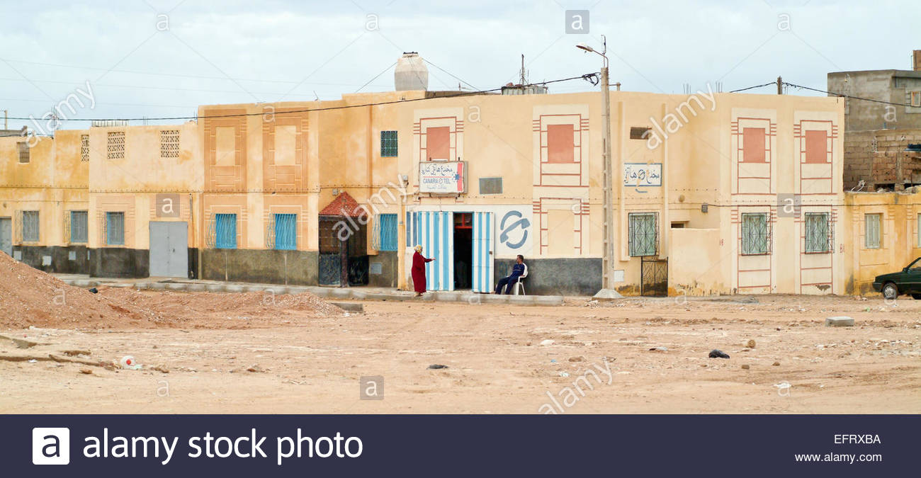 Western Sahara Spanish Sahara Sahara Espanol EH ESH North Africa Currently Occupied By Morocco (Sahara Desert Full - Stock Image