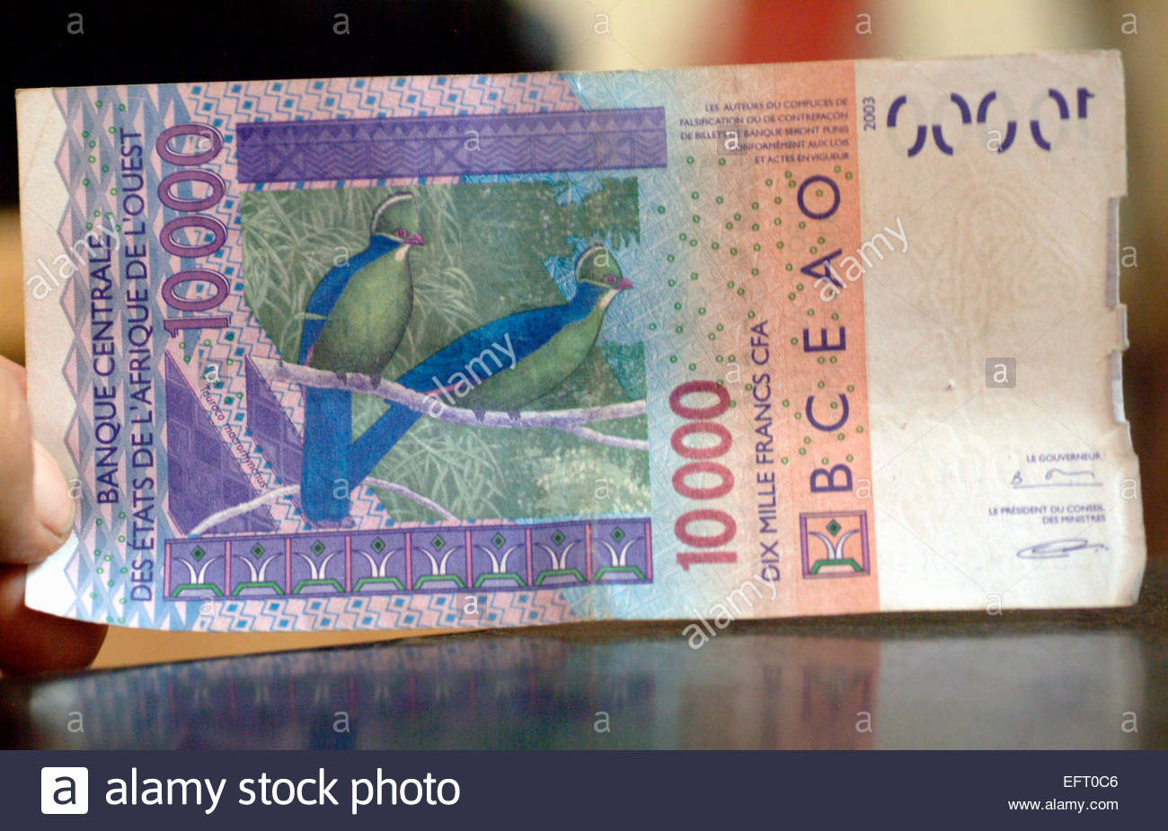 Western Africa Money Stock Photos & Western Africa Money