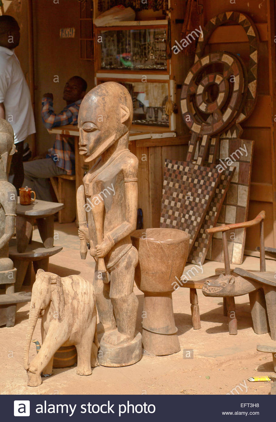 Wooden carvings wood carving carved craft arts and crafts burkina