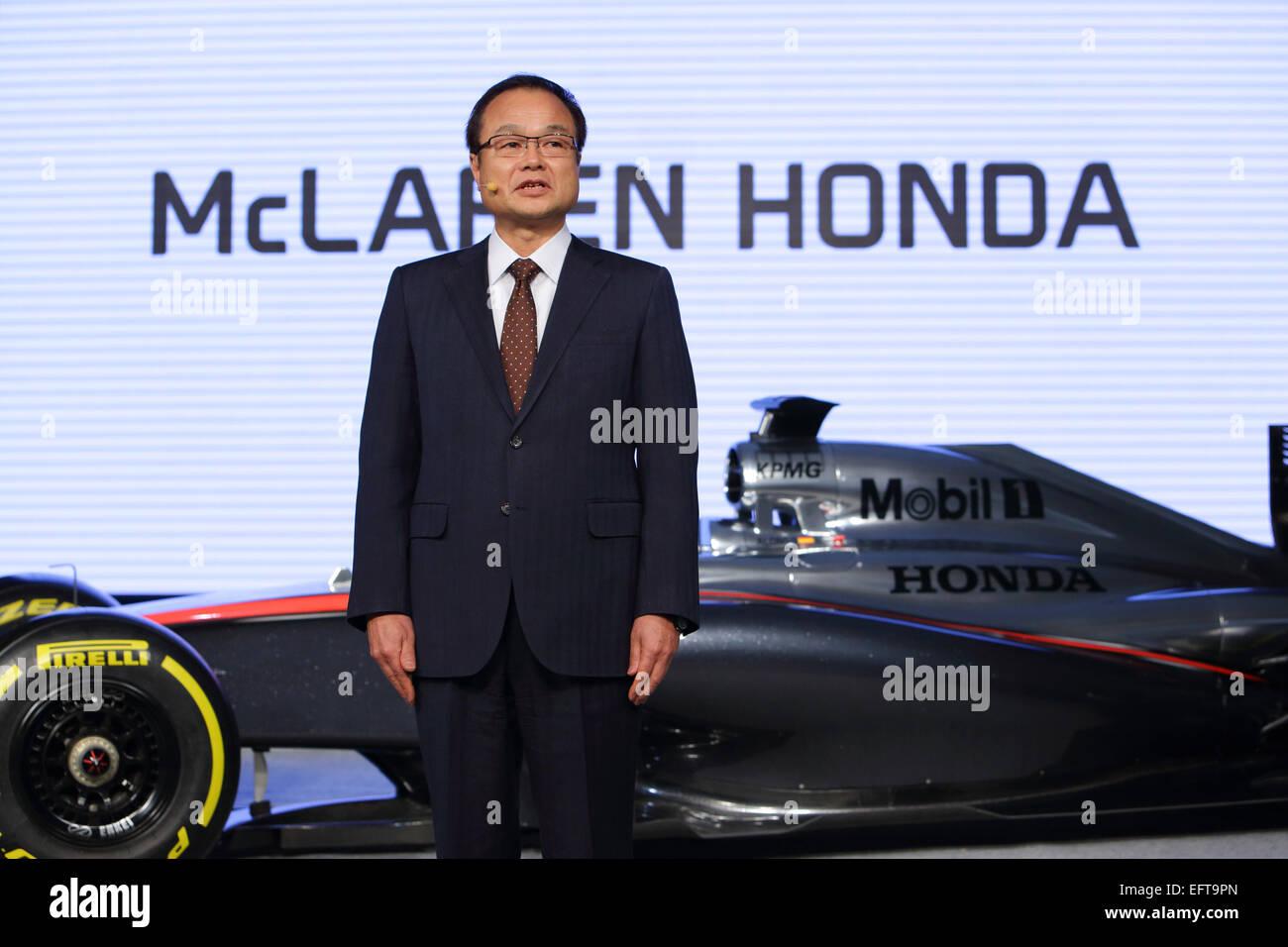 Takanobu Ito Honda F1