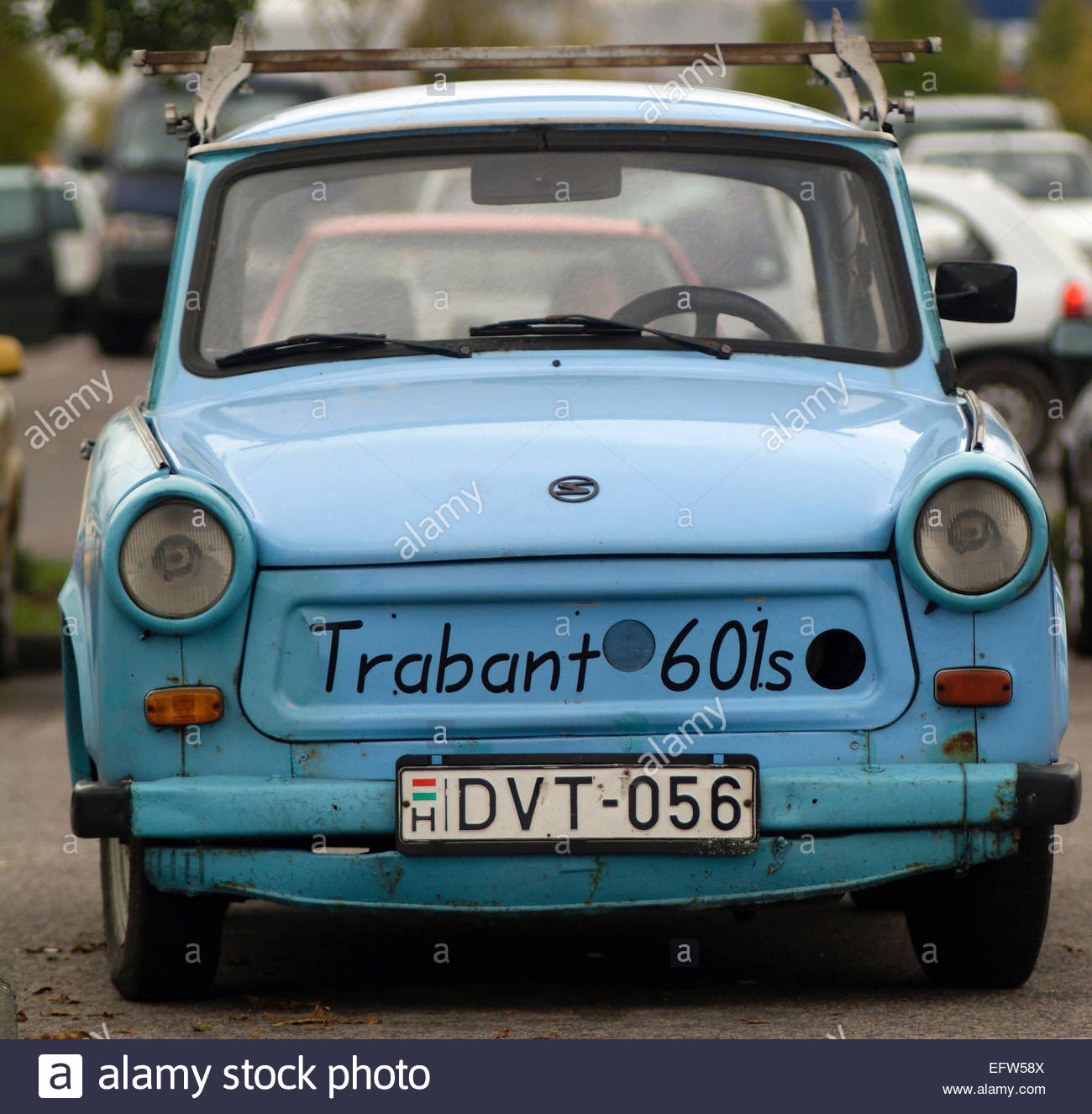 Trabat 601s car - the worlds most unreliable - Hungary Nobody Stock ...