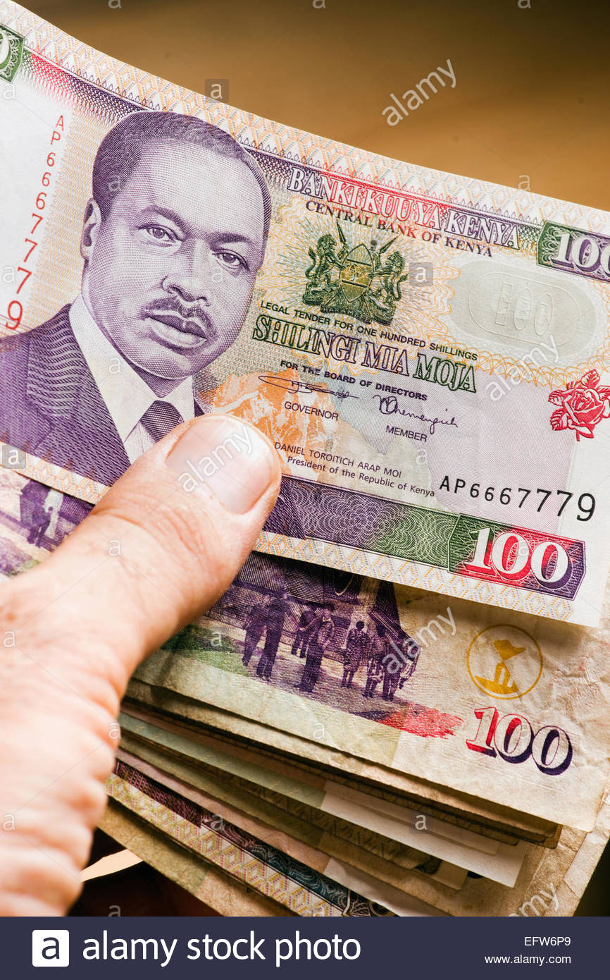 African Money Cash Currency Studio Shot People Person Male Mans Hand Holding Money Banknotes Paper 2000 Hand Hands Stock Photo