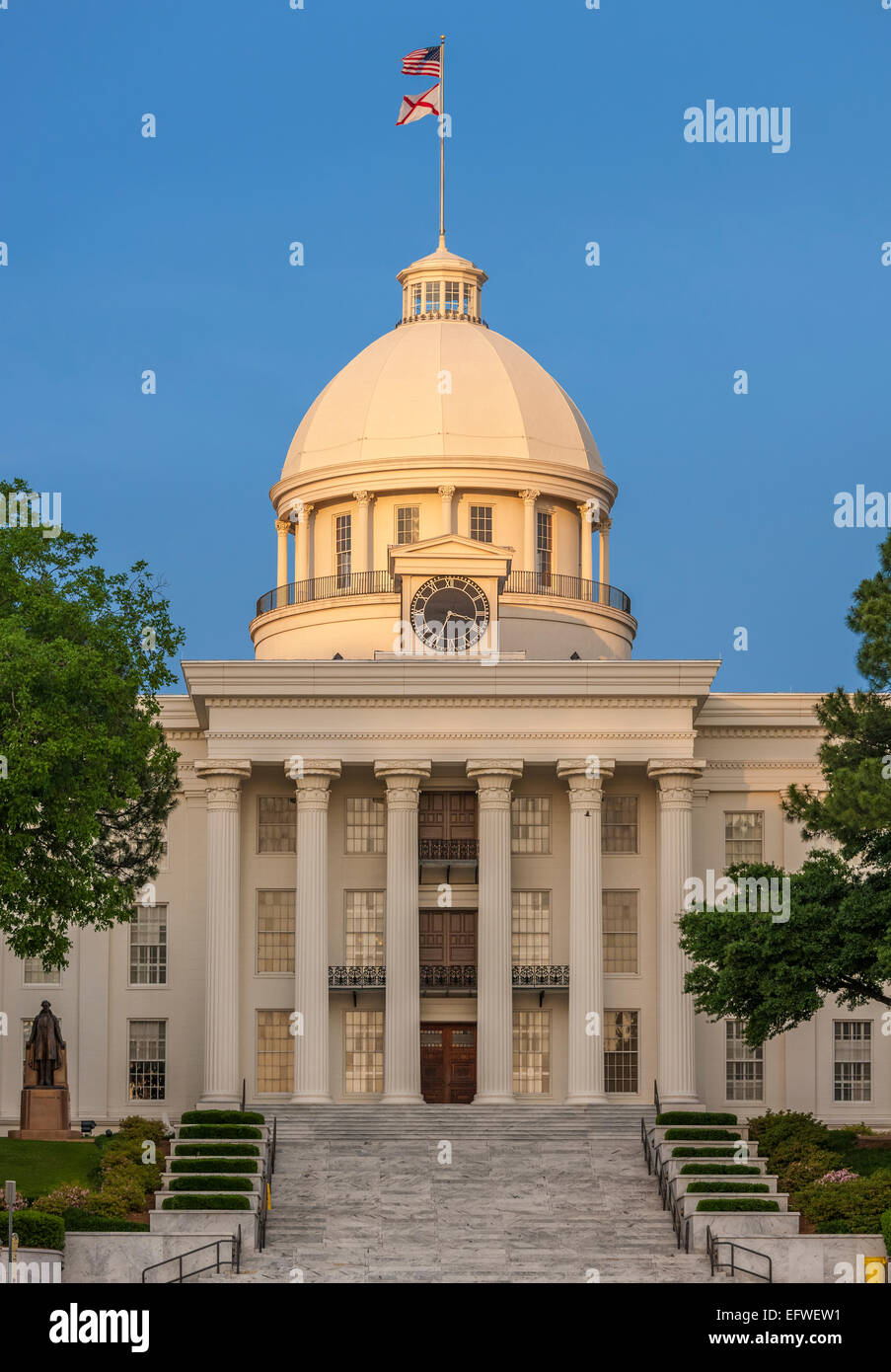 Montgomery Alabama State Capitol building - Stock Image