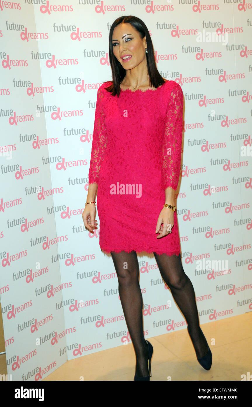 London, UK, 10 February 2015, Linzi Stoppard attends Melissa Odabash