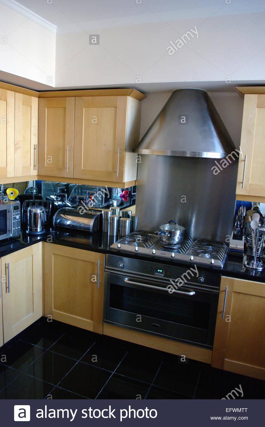 Kitchen London England Kitchen Interior Design House Home Modern Design  Interior Inside Indoor Wood Wooden Doors Storage Cabine