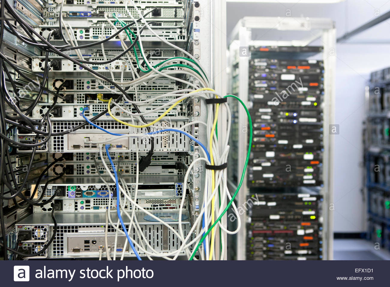 Sensational Server Rack And Wires Stock Photos Server Rack And Wires Stock Wiring Digital Resources Funapmognl