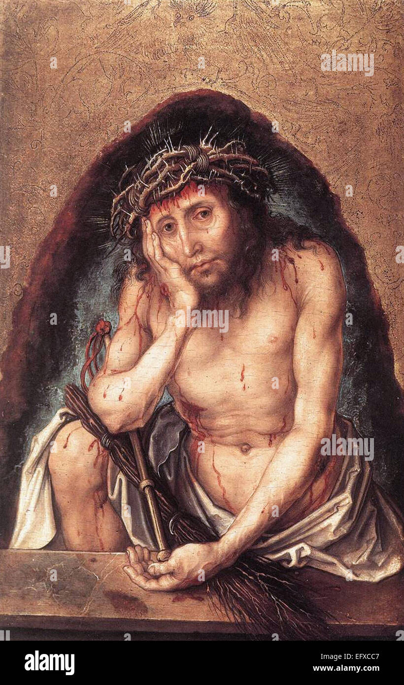 Albrecht Durer  Christ as the Man of Sorrows Stock Photo