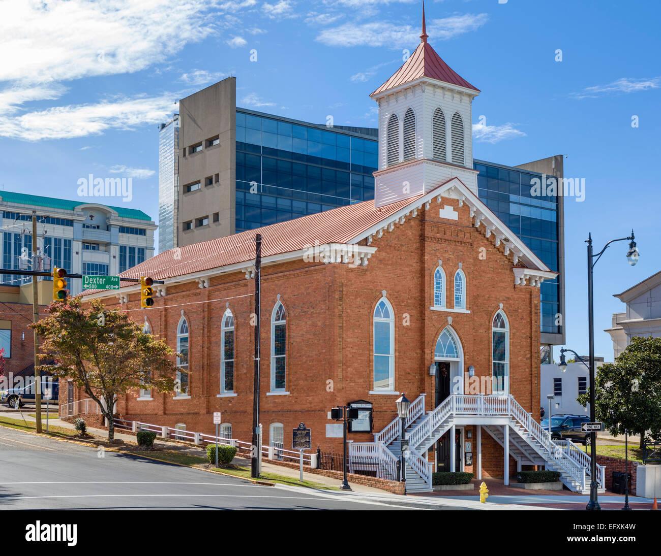 Dexter Avenue King Memorial Baptist Church, Montgomery, Alabama, USA - Stock Image