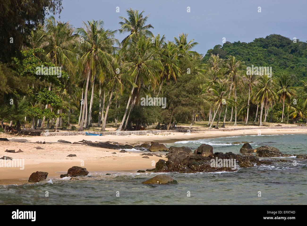 Mango Bay Beach, Phu Quoc Island, Vietnam, Asia Stock Photo