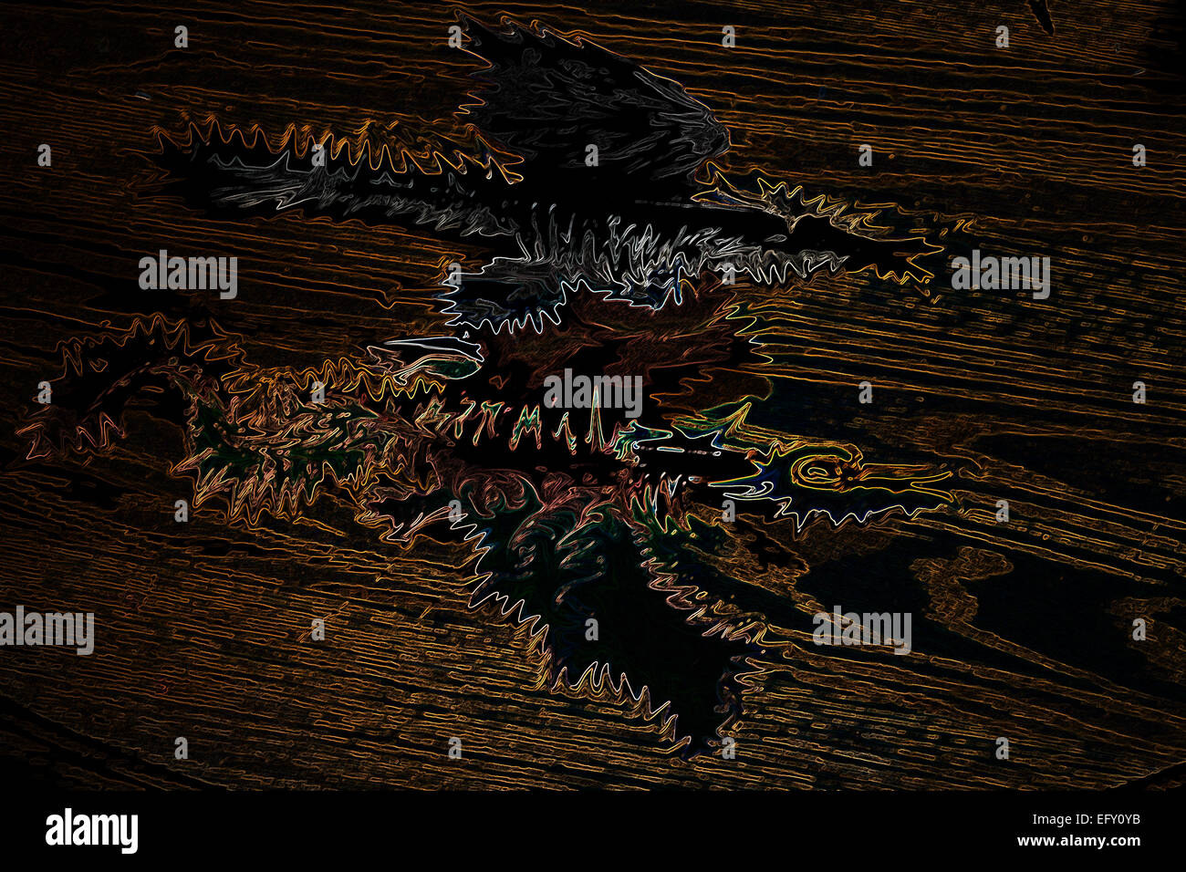alien birds;birds;black skies;blue sky;brown;black skies;dark sky;color image;color images;color image;color images;day;evil - Stock Image