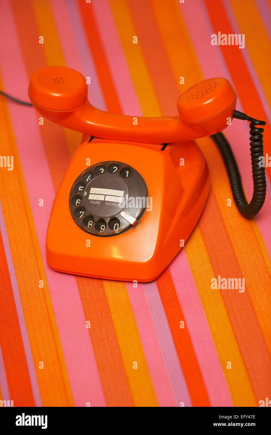GER,20150210,telephon - Stock Image